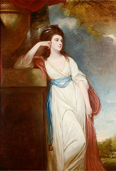 George Romney (1734-1802), (SH) PORTRAIT OF