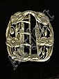 An Art Nouveau silver buckle, by William Comyns,, William Comyns, Click for value