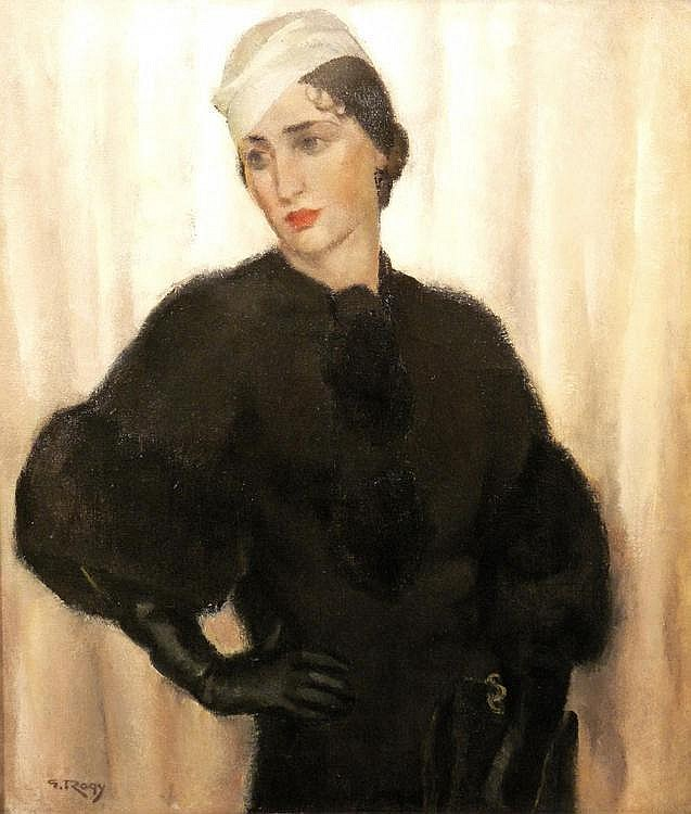 Georges Rogy (Belgian 1897-1981), Portrait of a