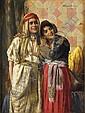 Daniel Israel (Austrian, 1859-1901) TWO ARAB, Daniel Israel, Click for value