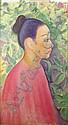 Dora Gordine (1906-1991) PORTRAIT OF AN ORIENTAL, Dora Gordine, Click for value