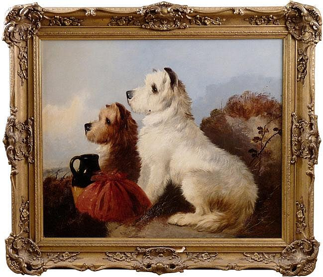 William Walker Morris (fl. 1850-1867) WAITING FOR