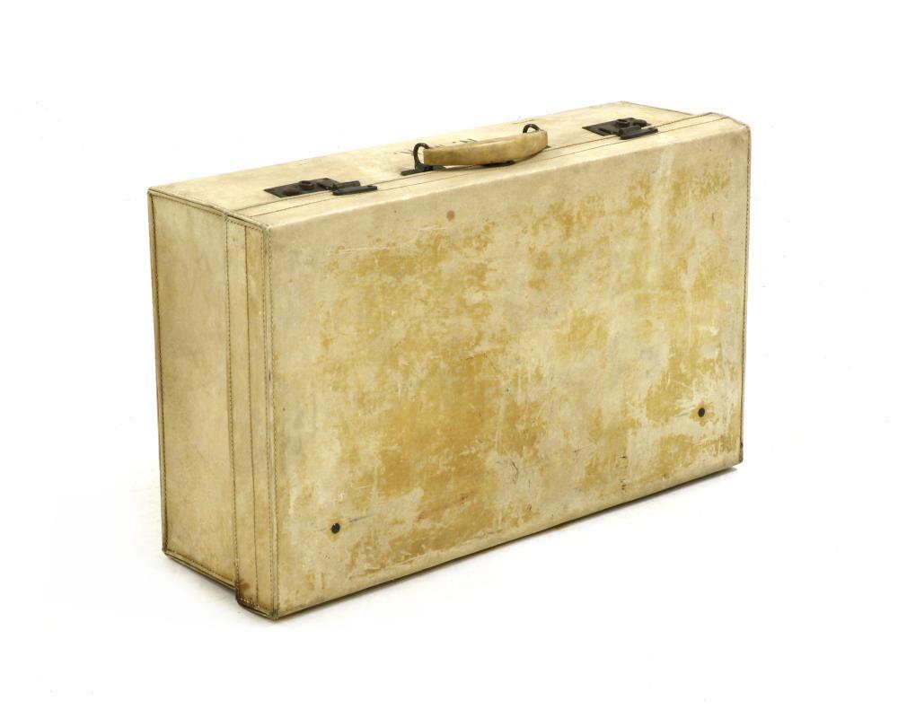 A John Pound & Co velum travel case