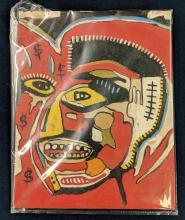 Jean Michel Basquiat Style Painting