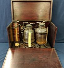Blood Transfusing Set, Late 1800's