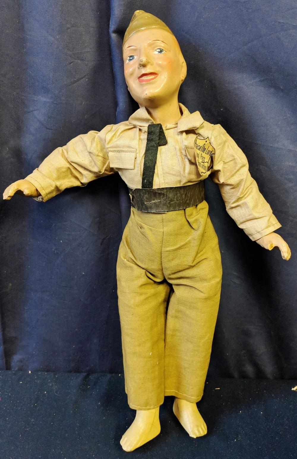WWII Soldier Doll