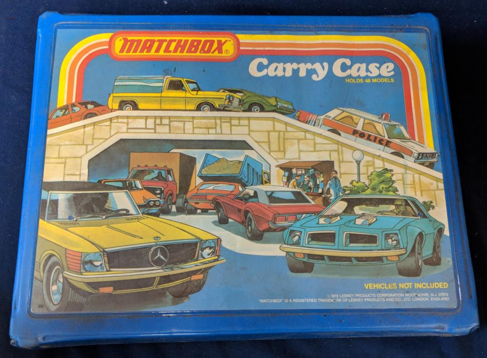 Matchbox Carry Case w/ Cars