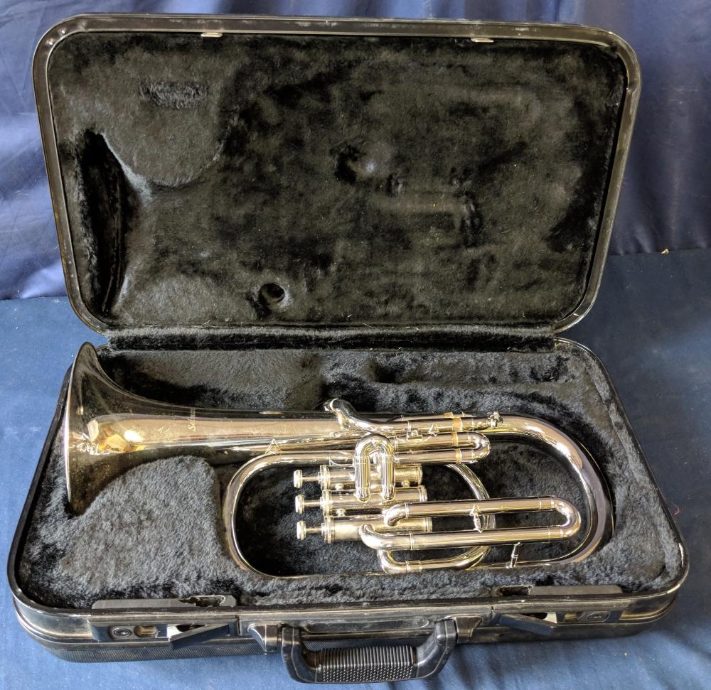 Lot 15: Selman Eb Alto Horn w/ Case