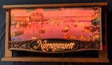 Lot 29: Lighted Narragansett Beer Sign