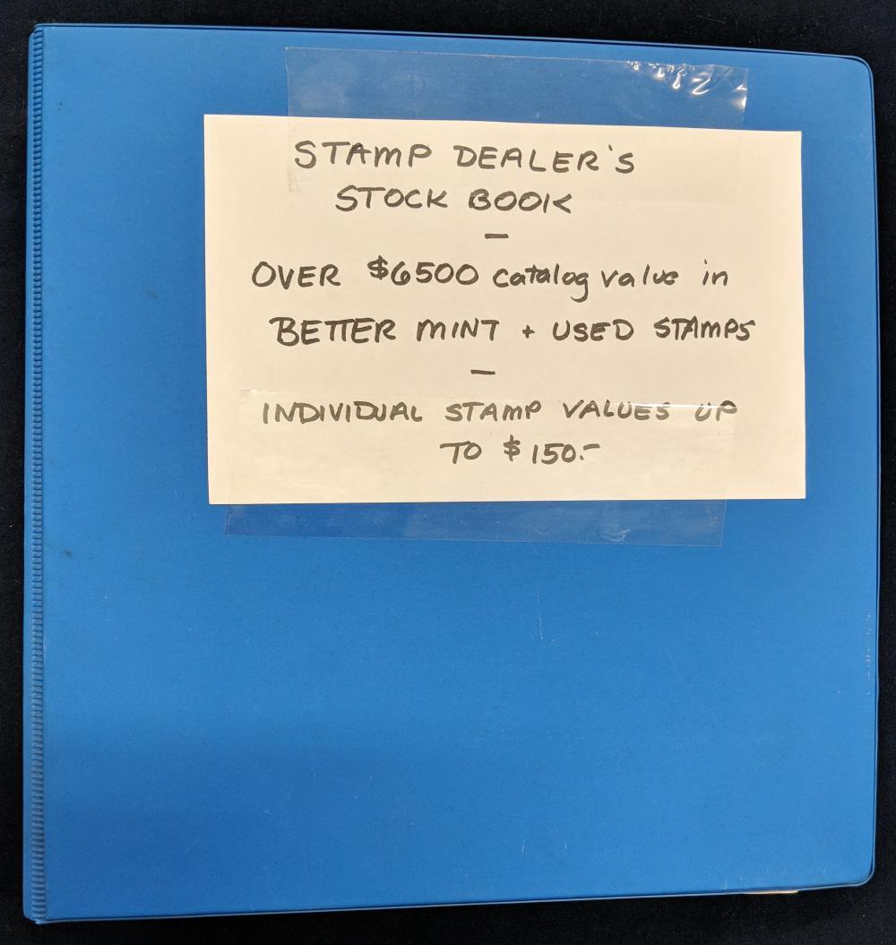 Stamp Dealer's Stock Book