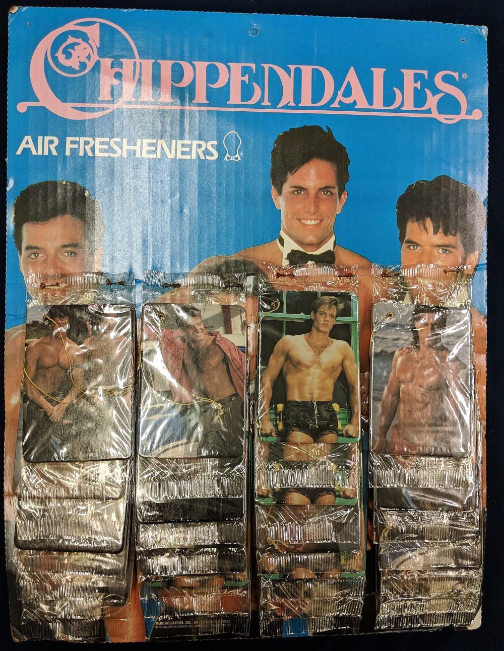 Vintage Chippendales Air Fresheners Display
