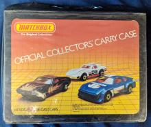 Lot 50: Matchbox Carry Case w/ Cars
