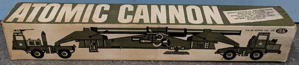 Lot 25: Ca. 1958 Ideal Atomic Cannon Toy w/ Box