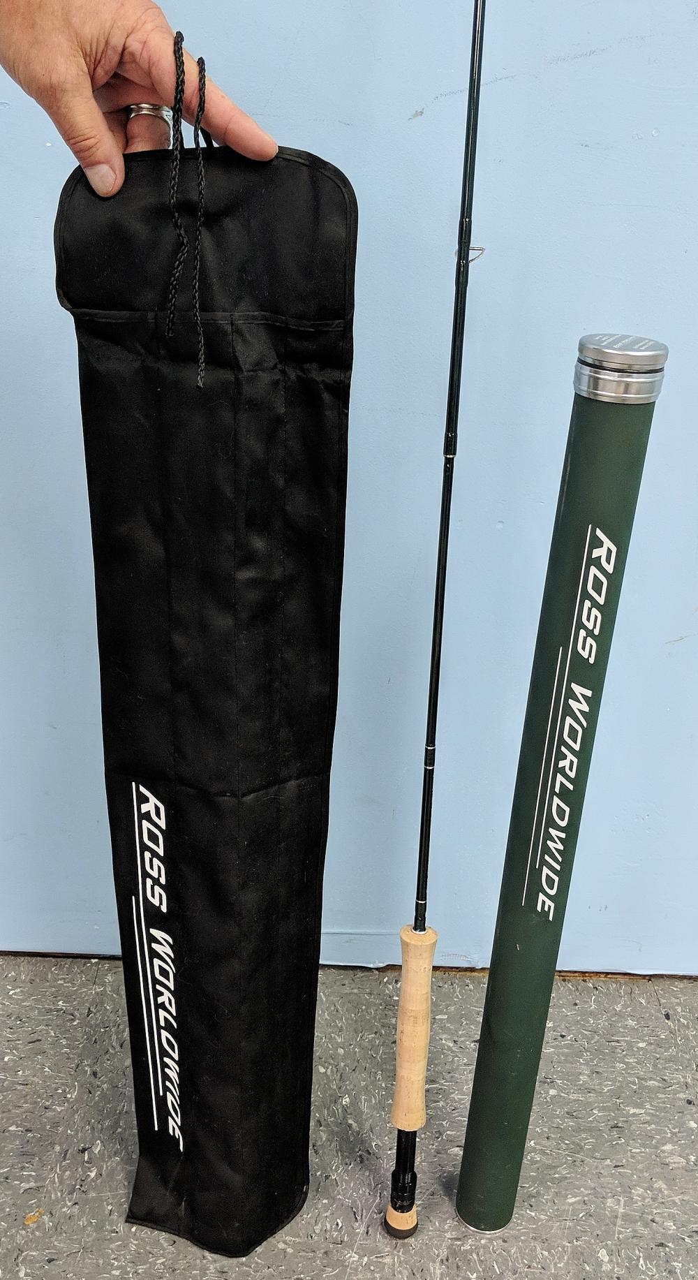 Lot 53: Ross Worldwide Fishing Fly Rod
