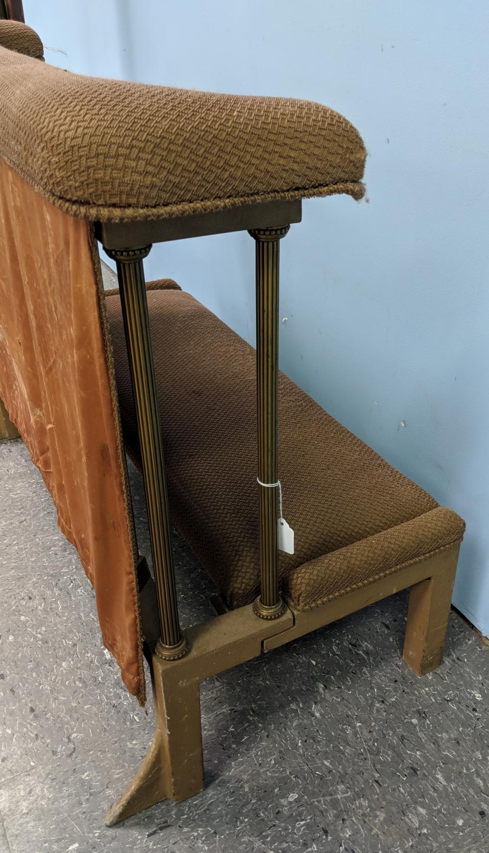 Lot 55: Vintage Church Kneeler