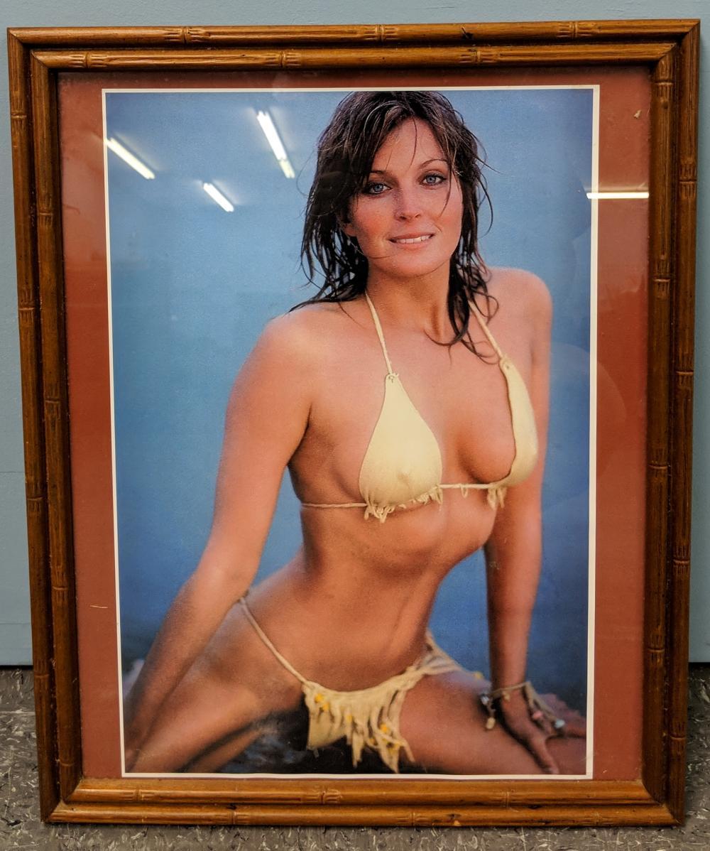 Bo Derek Poster in Frame