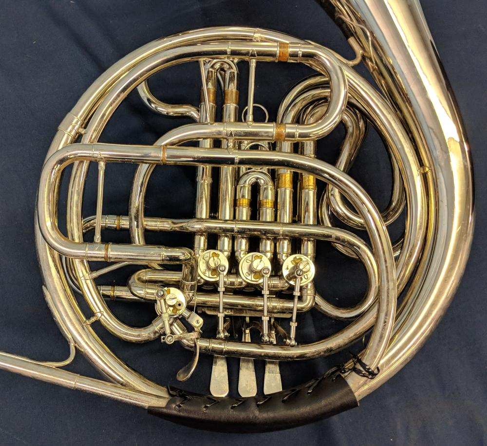 Lot 71: Rossetti Double French Horn w/ Case