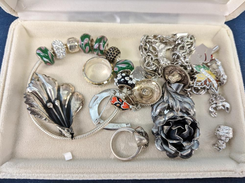 Lot 70: Lot of Sterling Jewelry