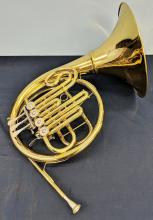 Lot 80: Selman French Horn w/ Screw On Bell