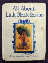 Lot 82: 1917 Little Black Sambo Book & Doll