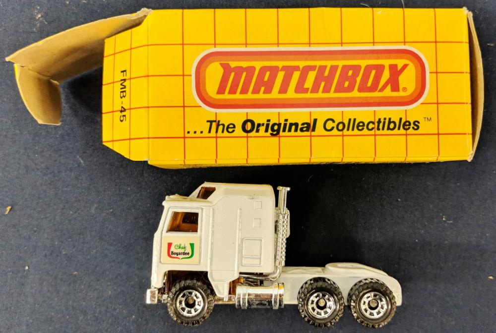Lot 81: Lot of Mostly in Box Matchbox Cars