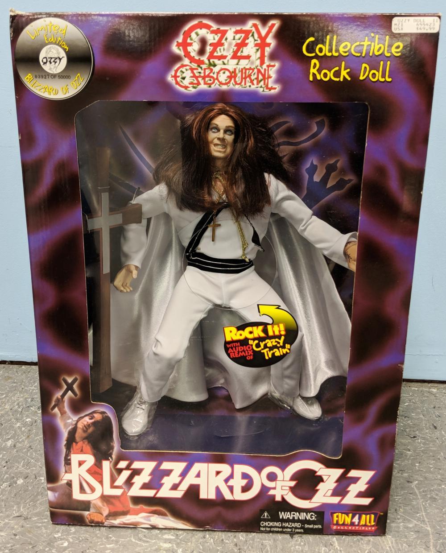 Large Ozzy Osbourne Figure in Box