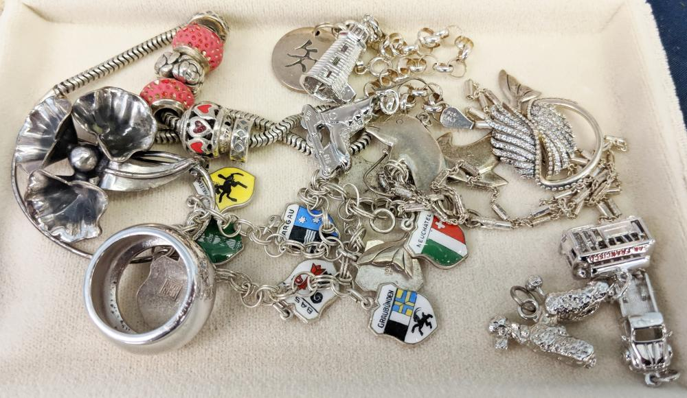 Lot 90: Lot of Sterling Jewelry