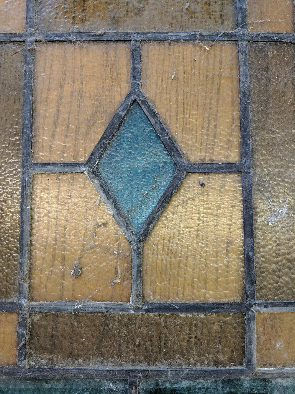 Lot 65A: Two Church Stained Glass Windows