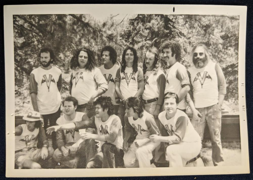 1974 Hollywood Vampires Photograph