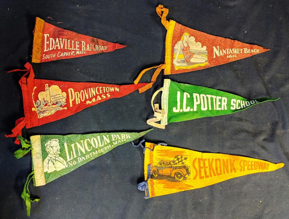 Six Early Local Pennants
