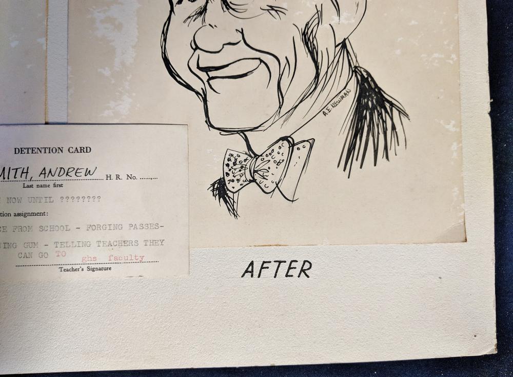 Lot 55A: A. E. Newman Mad Magazine Artwork