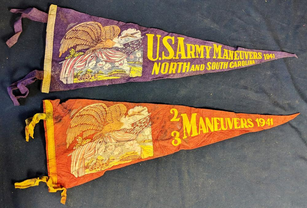 Two Military Pennants