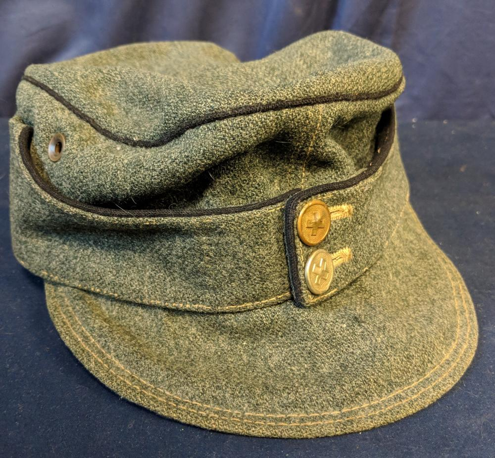Lot 77A: Ca. 1915 Military Hat