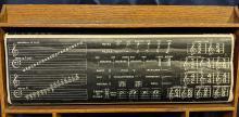 Lot 103: Ca. 1890s School Board w/ Scroll