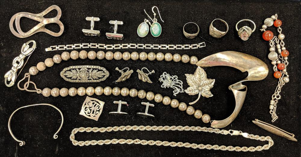 Lot of Beautiful Sterling Jewelry