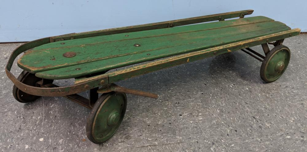 Lot 108: Flexy Sled on Wheels