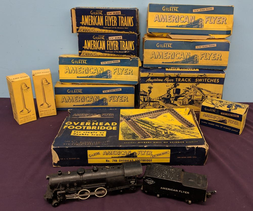 Lot 4: Early American Flyer Train Set