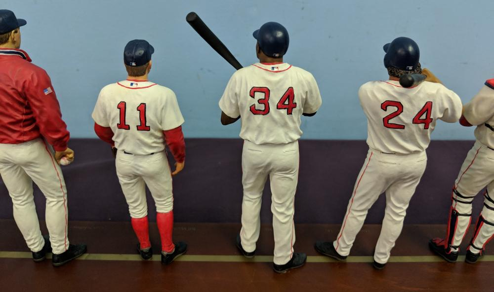 Lot 54: MLB 2004 Red Sox Statue