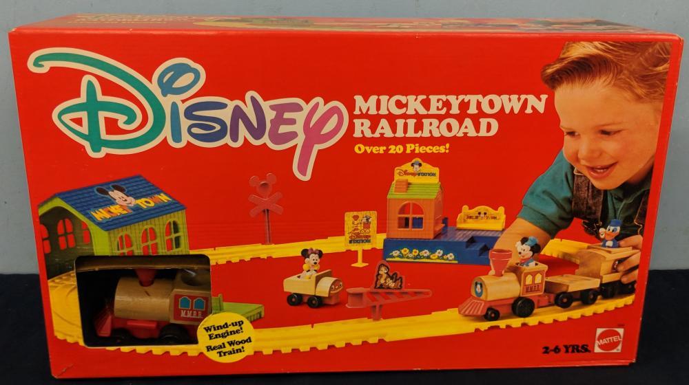 Lot 119: 3Pc. 1970S Disney Toys w/ Boxes