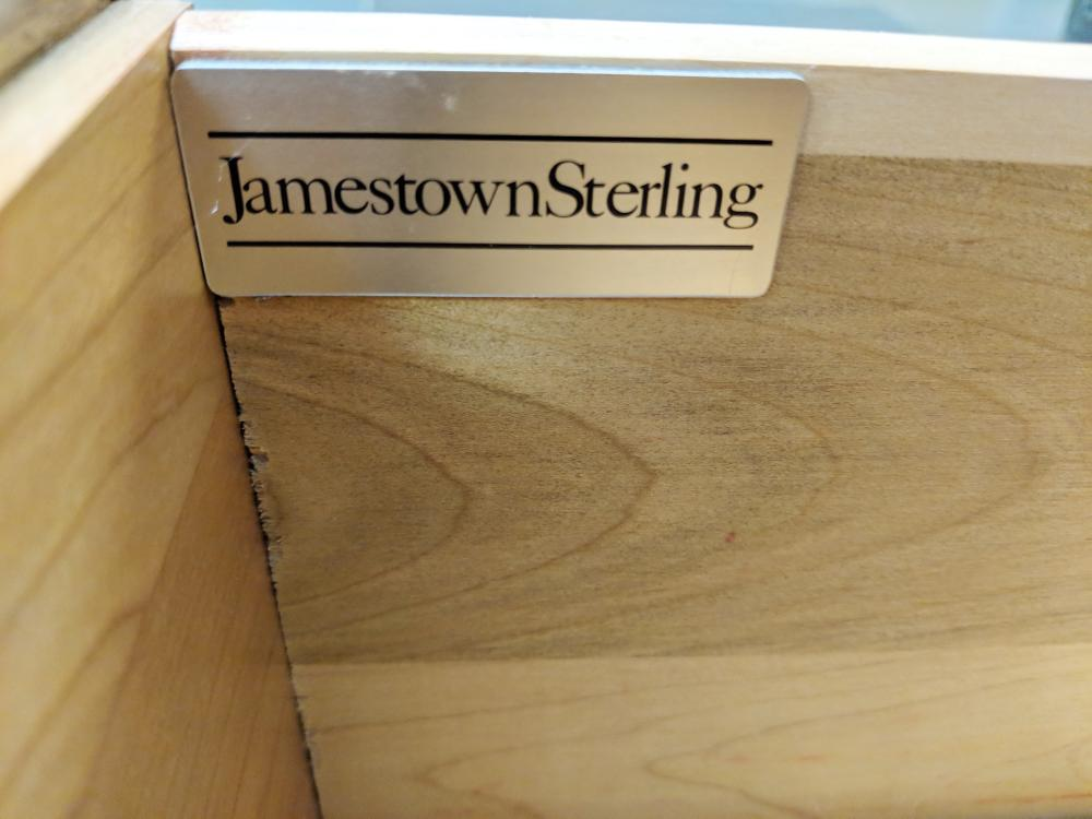 Lot 118: Side Board Table by Jamestown Sterling