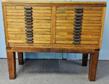 Lot 127: Hamilton Type Cabinet
