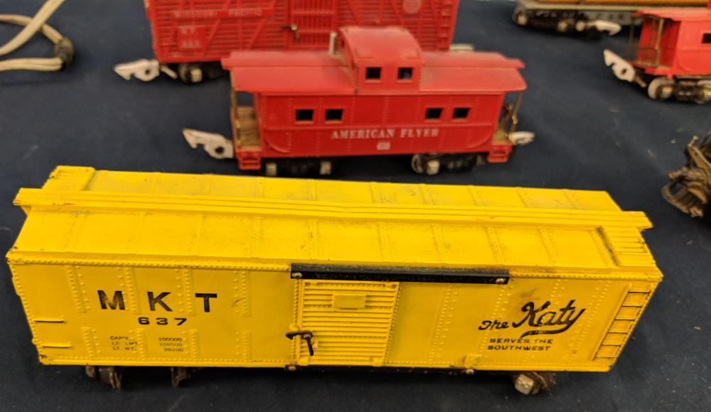 Lot 132: Lot of American Flyer Trains & Accessories