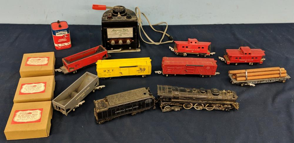 Lot of American Flyer Trains & Accessories