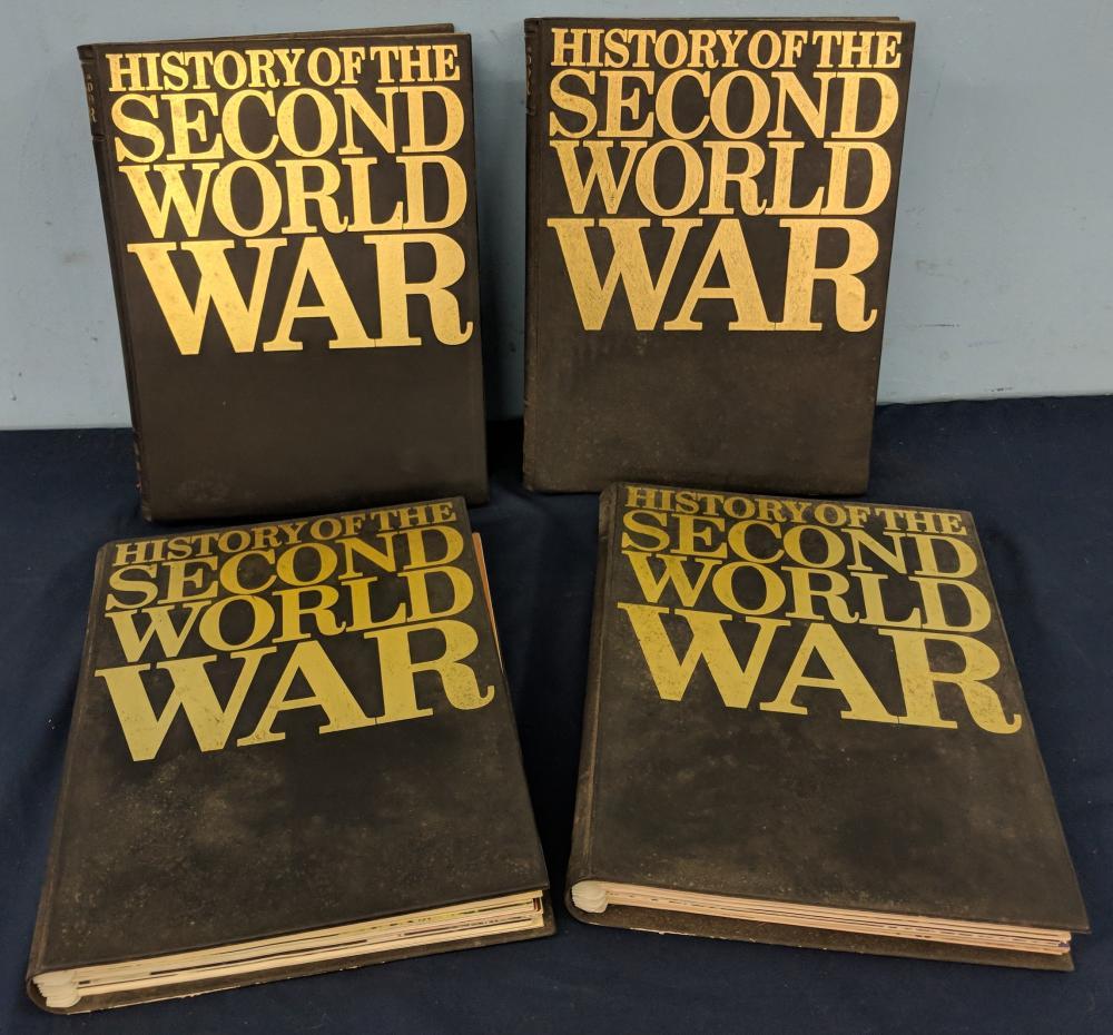 Four Volume Set of Cavendish War Books
