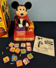 Lot 58A: 4pc. 1970S Disney Toys w/ Boxes