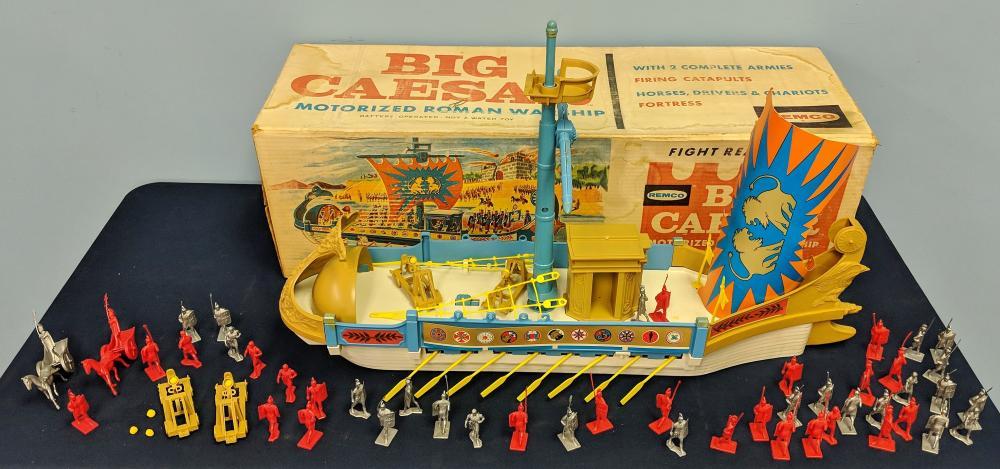 Remco Big Caesar Ship 1963 Alle Artikel in Elektrisches Spielzeug