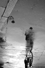 Esther Moliné: Rain Reflections, Dublin