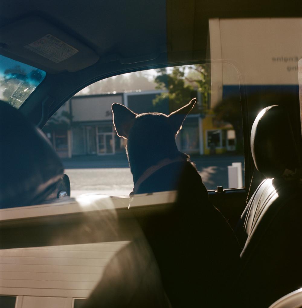 Linda Brownlee - Last morning at the petrol station in Garberville