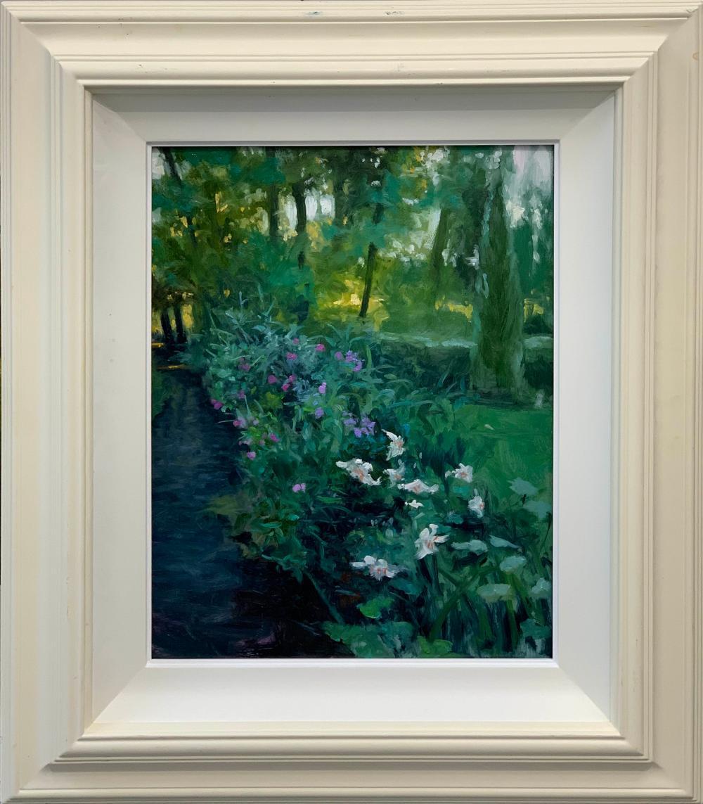 Henry McGrane - Woodland Study with Lillies