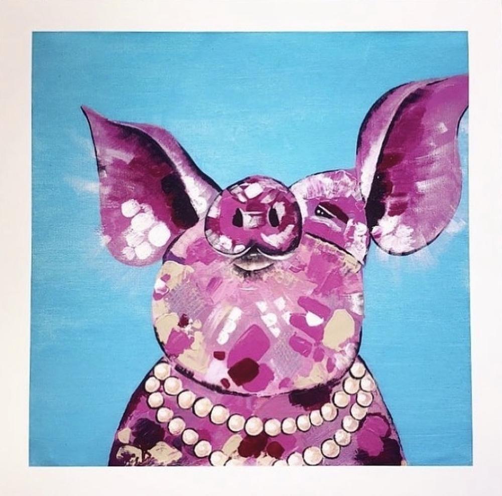 Audrey Hamilton - Posh Pig